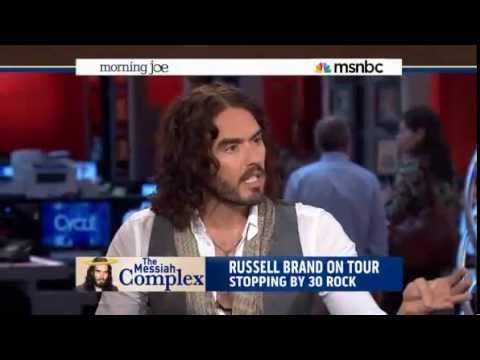 Thumbnail image for 'Russell Brand Hijacks MSNBC Morning Joe and Shows Them How to do Their Job - June 17, 2013'