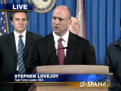 DEA Official Announces Successful Drug Bust On Son-s Room