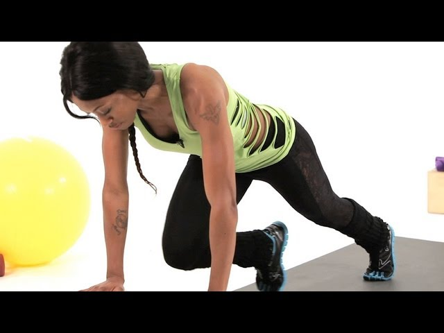 How to Do a Mountain Climber | How to Do Plyometrics