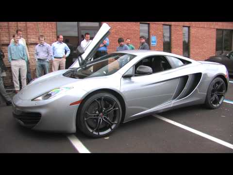 2012 McLaren MP4-12C -- 360 View and Start-Up - Car and Driver