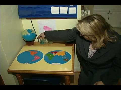Montessori Methods & Activities : Geography Montessori Methods