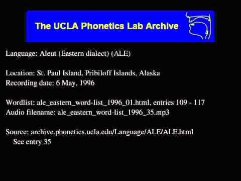 Aleut audio: ale_eastern_word-list_1996_35