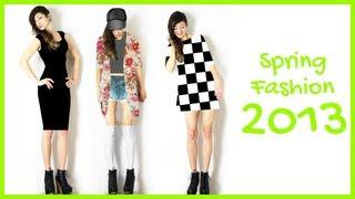 MoinYaminah – ♥ Frühlings-Fashion 2013: Das will ich anziehen!