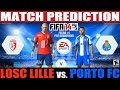 FIFA 14: Losc Lille vs. Porto FC Match Prediction Fecha #1 Pre Champions League