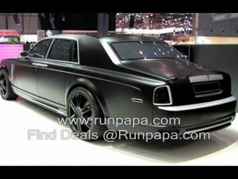 Rolls Royce Phantom Interior 2010, Rolls Royce Phantom Video