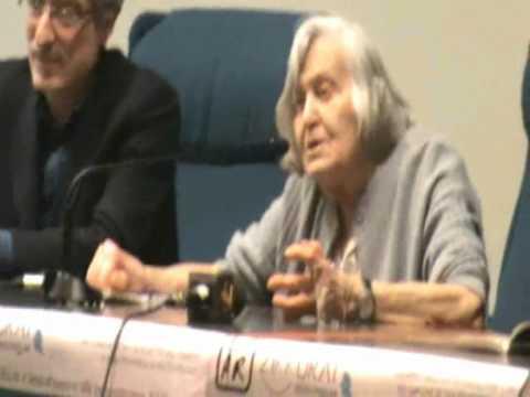 Margherita Hack parla di religione e politica a San Benedetto