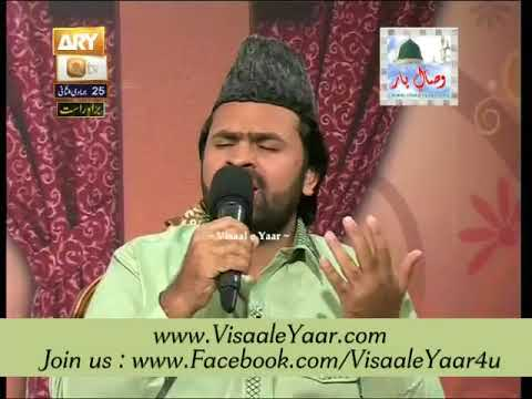 Syed Zabeeb Masood At Qtv Program Naat Zindagi Hai 25-04-2014 With Sarwar Naqshbandi.By  Naat E Habib