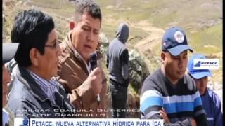 Represa Huallacayanga, nueva alternativa hídrica para la Región Ica Sonconche - Ayacucho