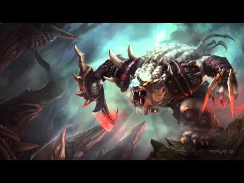League of Legends - Rengar Login Screen and Music [1080p HD]