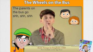 Wheels On The Bus Fun Kids Song, DreamEnglish