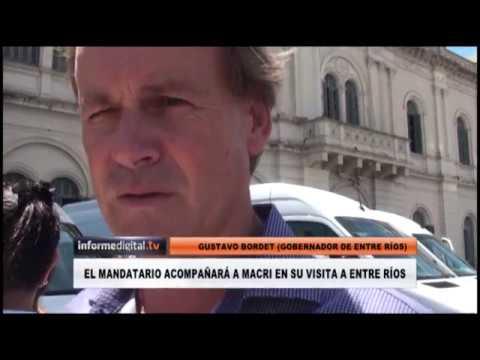 <b>Gustavo Bordet y la unidad del PJ:</b> &quot;estoy absorbido por la gestión&quot;