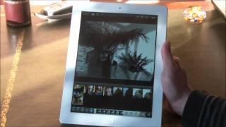 """Vidéo : Apple """"nouvel"""" iPad (iPad 3) application ecran Retina"""