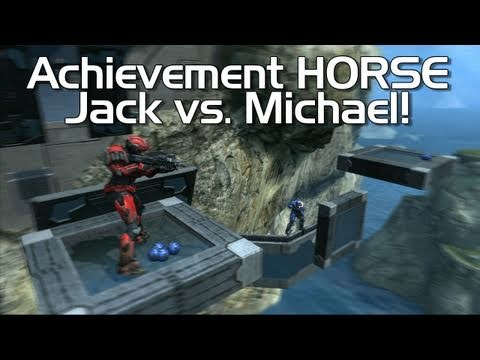 Halo: Reach - Achievement HORSE #14 (Jack vs. Rage Quit's Michael!)