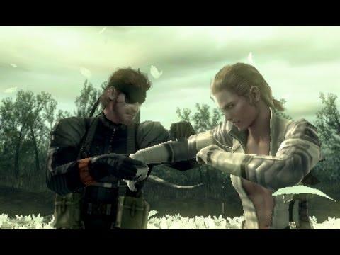 SPOILERS! Metal Gear Solid 3 HD: Boss Gameplay