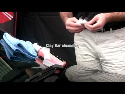 Clay Bar Paint Cleansing by Car care Products