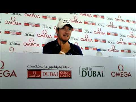 Chris Wood talking about how his dad and family celebrated his Qatar Masters win