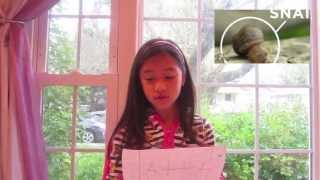 """Selena """"Why I Love Snails"""""""
