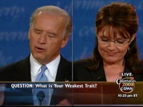 Palin-s excessive use of -Maverick- at the VP Debate