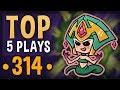 league of legends top 5 plays week 314 | unbelievable moments (best saves)