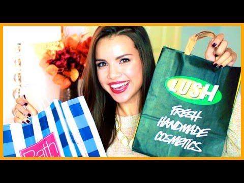 Fall Shopping Haul ♥ MAC, LUSH, Target, and More!