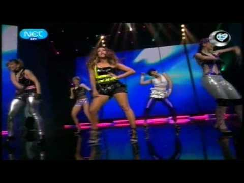 Kalomira - Just Dance, When i Grow Up & Secret Combination Remix (Greek National Final 2009)