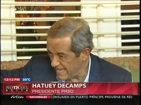 Hipólito Mejía se reúne con Hatuey De Camps…
