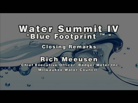 Milwaukee Water Summit IV | Program | Part 9