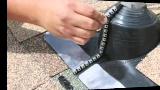 Awesome EMC Master Flash   Roof Flashing That Seals Around An Electrical Service  Mast Or Pipe   YouTube