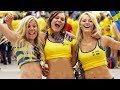 ВСЯ ПРАВДА О ШВЕДСКИХ ФУТБОЛЬНЫХ ФАНАТАХ  Как ведут себя фанаты Швеции и Южной Кореи. Swedish fans.