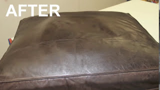 Restoring Faded Leather - YouTube