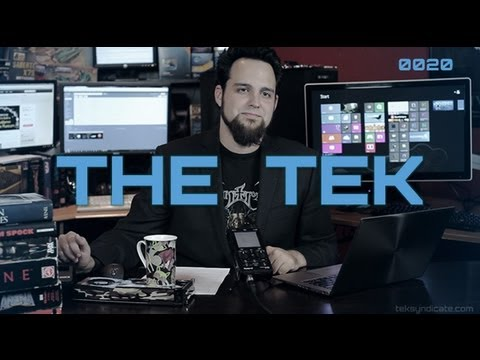 The Tek 0020: Tesla Museum, Kim Dotcom vs FBI, Steve Jobs Steals Ideas, GTX 660 Ti