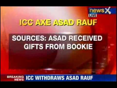 ICC removes Asad Rauf from champions trophy