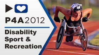 PROJECT FOR AWESOME - DISABILITY SPORT & RECREATION (P4A 2012)