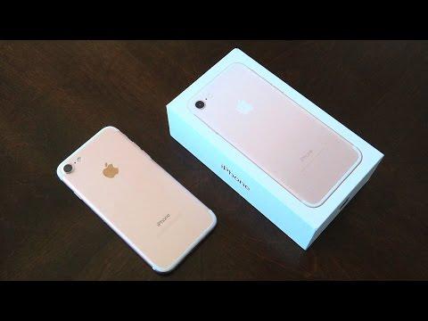 iPhone 7 32GB Rose Gold Unboxing - UChmokYlP8OGQuCweupBznDg