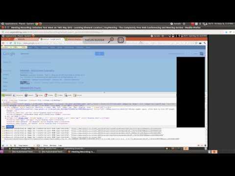 1st Selenium Training Session - Element Locators (xPath, CSS) and Selenium