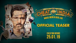 WHY CHEAT INDIA Official Movie Teaser