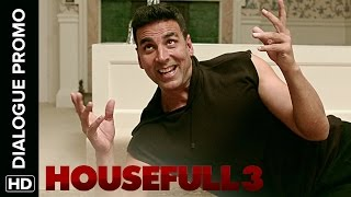 Jacqueline Is Frustrated With Akshay's Split Personality - Housefull 3