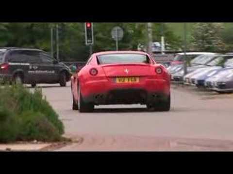 Auto Car Ferrari 599