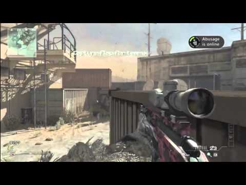 MW3 | Dome Spawn Shot Triple No Scope!!