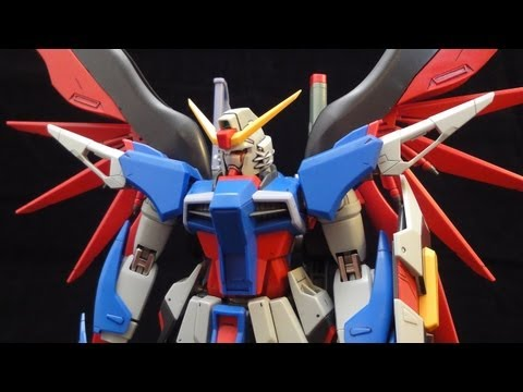 MG Destiny Gundam (Part 2: Parts) Extreme Blast Mode: Seed Destiny gunpla review
