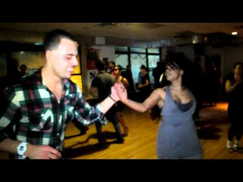 Sharon German dancing with Baudilio Rivera @ The Yamulee Social