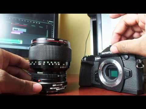 Canon FD to MFT SpeedBooster - First Impressions | EM1 Issue
