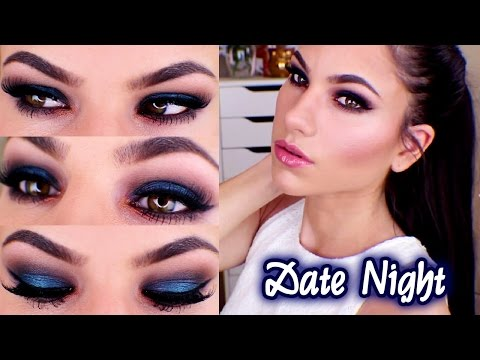 Date Night Makeup! Semi-Sweet Chocolate Bar Palette (Too Faced)