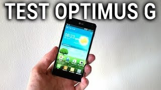 Vidéo : LG Optimus G