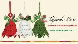 Page 1 of comments on Campanas de Navidad tejidas a crochet - YouTube