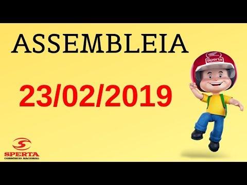 Sperta Consórcio - Assembleia - 23/02/2019