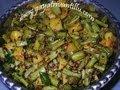 How to make Bobbarlu Vepudukaram Koora (Cow Peas)