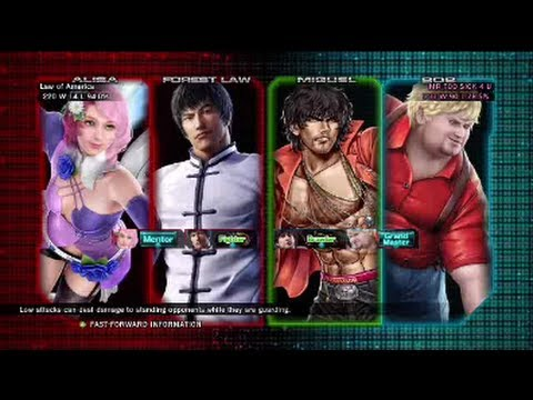 Tekken Tag Tournament 2 : Law of America ( Forest Law X Alisa ) VS MR TOO SICK 4 U ( Miguel X Bob )
