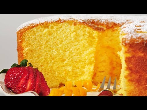 Orange Chiffon Cake (Classic Version) - Joyofbaking.com