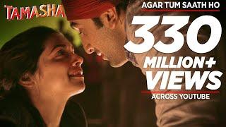 Agar Tum Saath Ho FULL AUDIO Song   Tamasha   Ranbir Kapoor, Deepika Padukone   T-Series